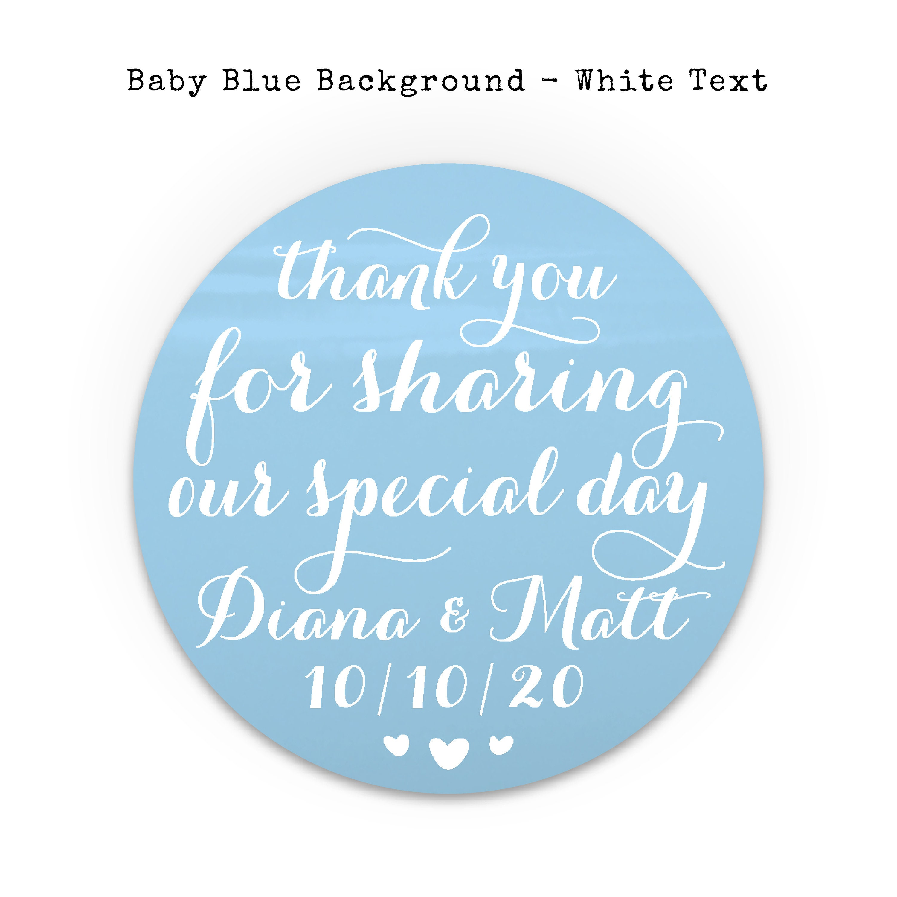 Personalised stickers wedding thank you stickers for favors wedding custom circle stickers labels personalized stickers wedding favors