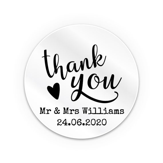 Custom clear sticker, Mr and Mrs stickers, Transparent stickers, Personalized clear stickers, Personalised party favours, Custom clear label