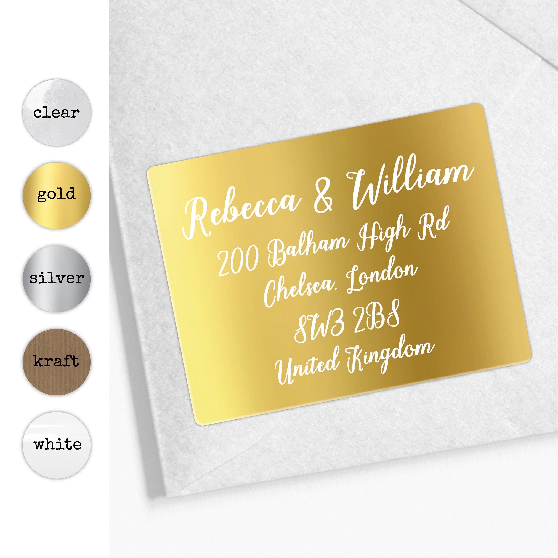 Wedding address labels custom wedding stickers label return address stickers for wedding save the date address label personalised gift