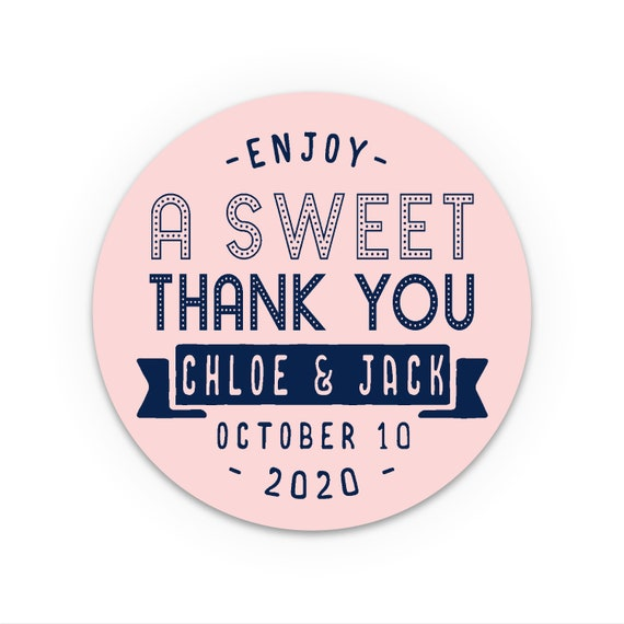 Personalised stickers wedding, Thank you stickers, Wedding Favor Stickers, Thank You Labels, Rustic Favor Mason Jar Labels, Jam jar labels