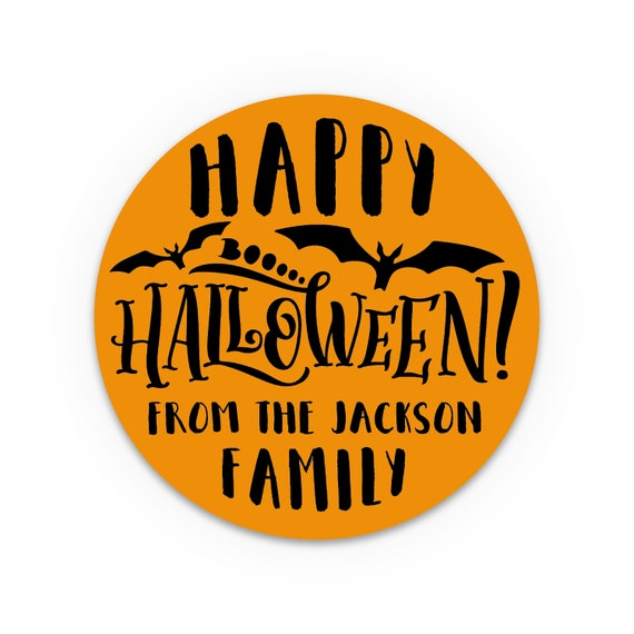 Halloween bag stickers, Goody bag stickers, Halloween candy personalized stickers, Halloween decorations, Halloween favor tags labels uk