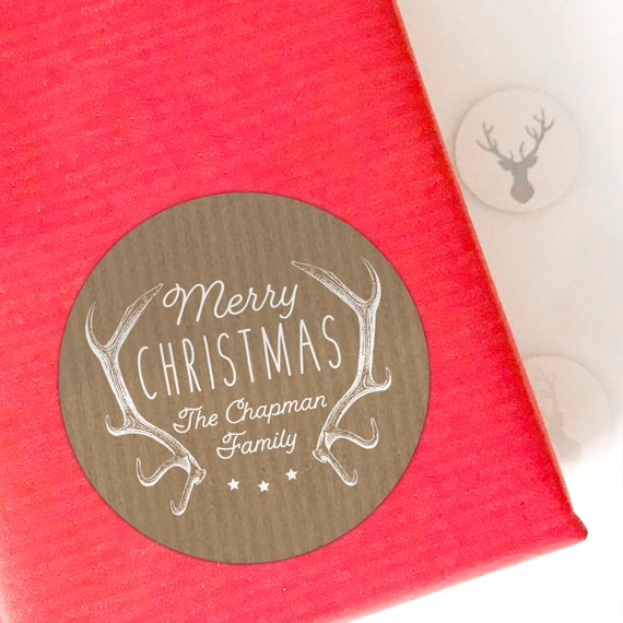 Christmas stickers, Personalized Christmas labels, Christmas tags for presents, Christmas gift sticker, Custom tags