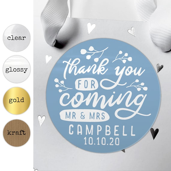 Goodie bag stickers, Custom Party Favor Stickers, Wedding favor labels personalized, Personalised stickers for party, Goody bag sticker