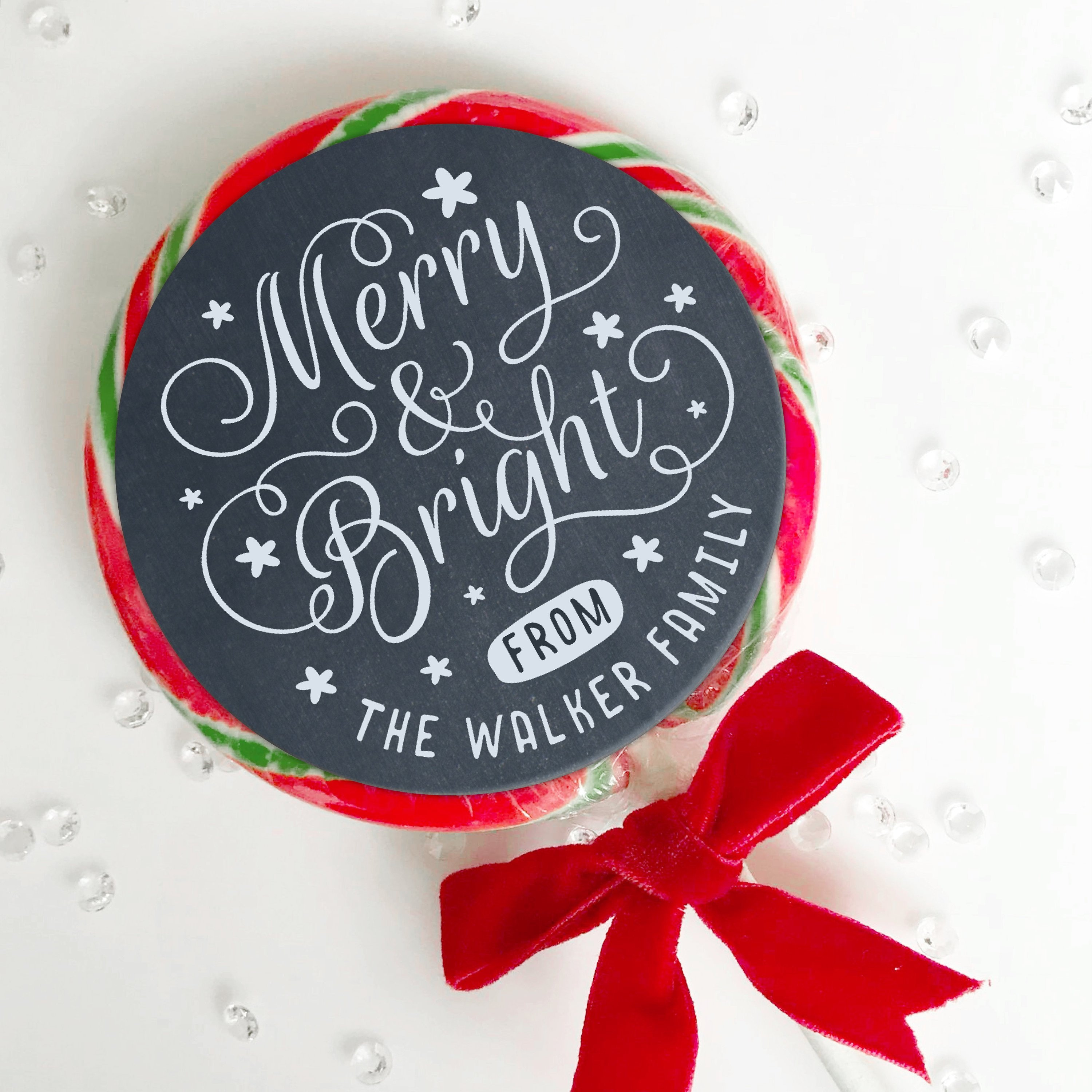 Glossy christmas stickers, Merry Christmas Label, Christmas Stickers ...