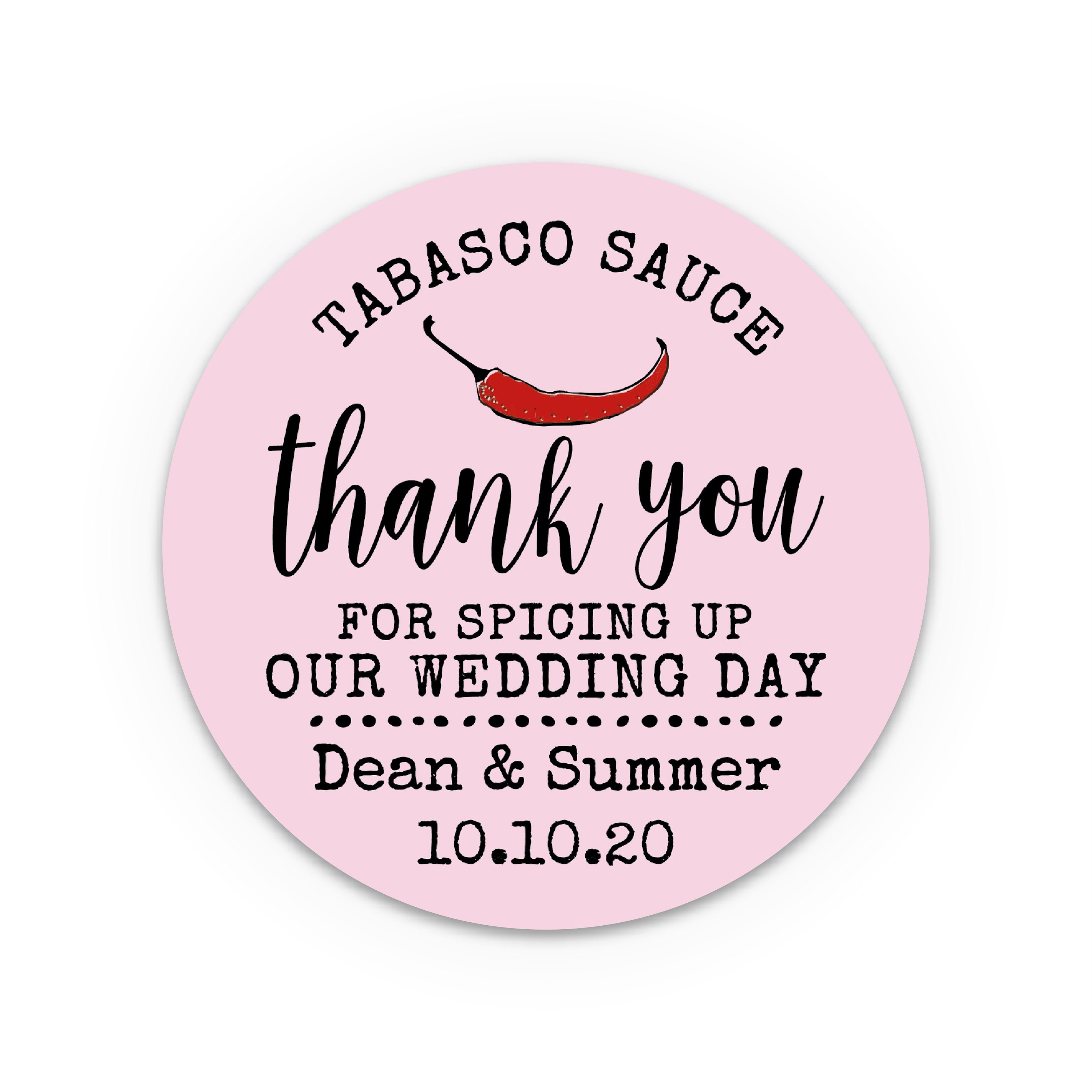 Personalised gift, Personalized wedding stickers, Thank you gift ...