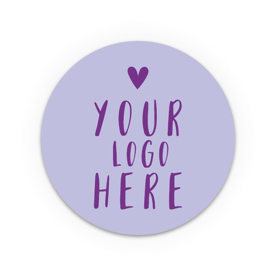 Custom product label stickers, Custom logo stickers sheet, Personalised Stickers, Labels for handmade items, Round packaging stickers set