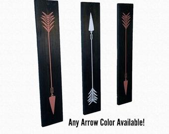 Pallet Wood Arrow Wall Decor | Set of 3