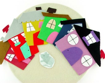 Little Mouse Flannel Board Story Game For Kids
