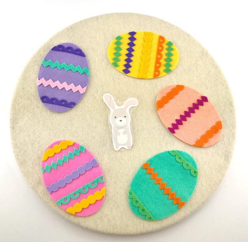 Easter Felt Board Story Game For Preschool And Kindergarten Etsy