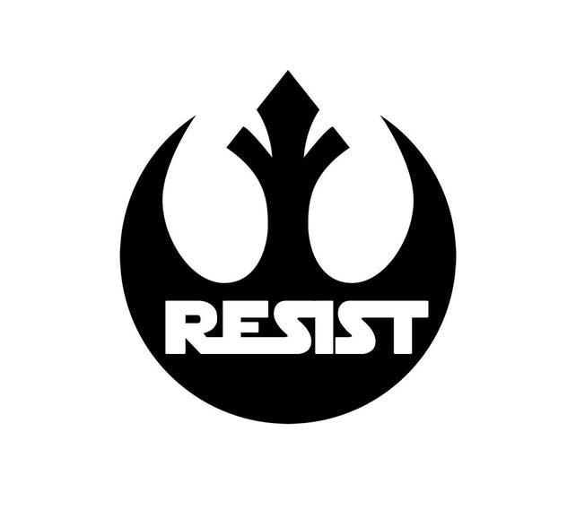 Free Shipping Star Wars Rebellion Resist 3 Decal Rebel Etsy