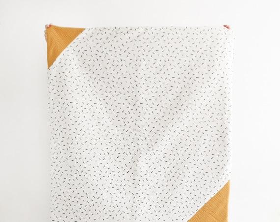 Playmat/raw mustard game blanket