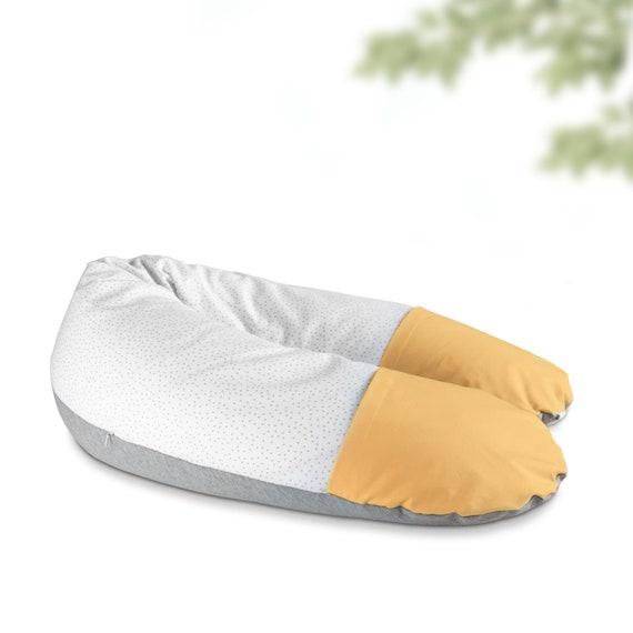 Fresh mustard breastfeeding cushion