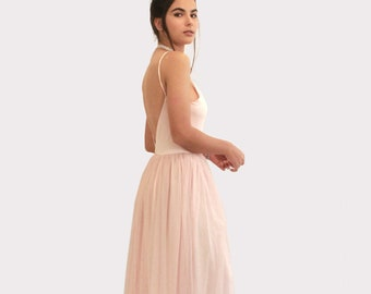 c24811a2717 Blush Bridesmaid Dress