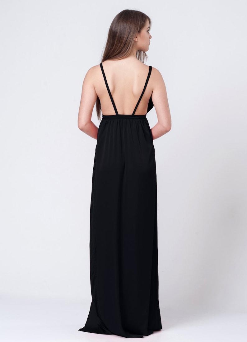 c8ee5314dd7f3e Cheap Black Prom Dresses With Slits