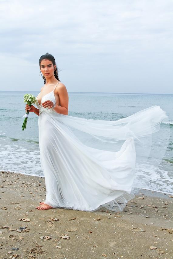 Dress Bridal Gown Wedding Boho Beach Dress Wedding Bohemian Wedding Dress Dress Dress Backless Wedding Dress Wedding Long Wedding nBBp6Sx