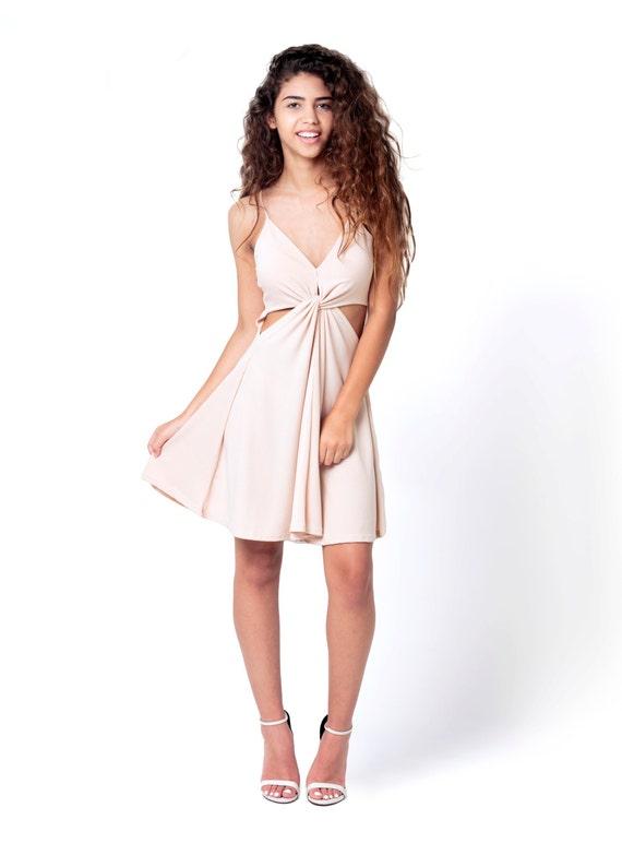 Blush Cocktail Dresses Evening