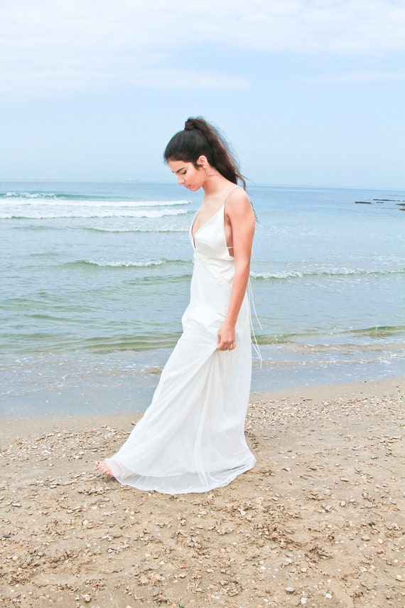 Ivory Boho Dress Dress Dress Wedding Dress Bridal Wedding Lace Off Wedding Wedding Long Wedding Beach Dress White Dress Dress Wedding wAIYWPqx55