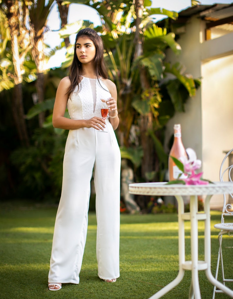 Wedding Jumpsuit Womens Jumpsuit Beach | Stay at Home Mum