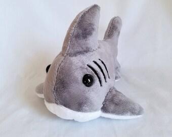 Gray Shark Plushie