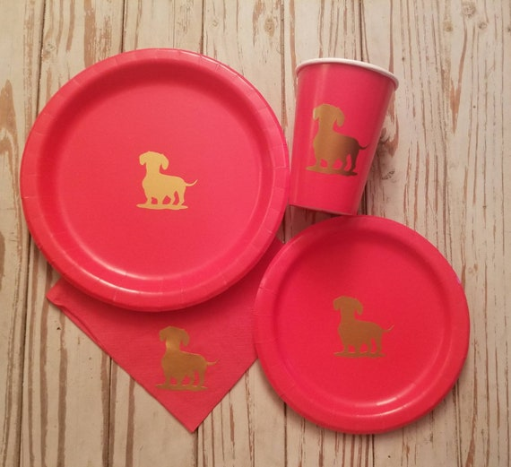 Dog party plates, cups and napkins, dog party plates, cups, napkins, dog birthday, dog baby shower, puppy party plates, cups, puppy party