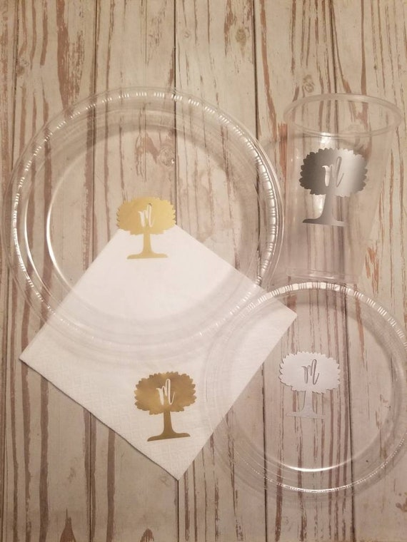 Family reunion plates, cups and napkins, reunion tableware, family reunion cups, family tree plates, cups and napkins, family reunion party