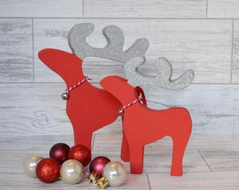 sale christmas reindeer christmas decoration christmas ornament freestanding reindeer wooden reindeer christmas mantel decor