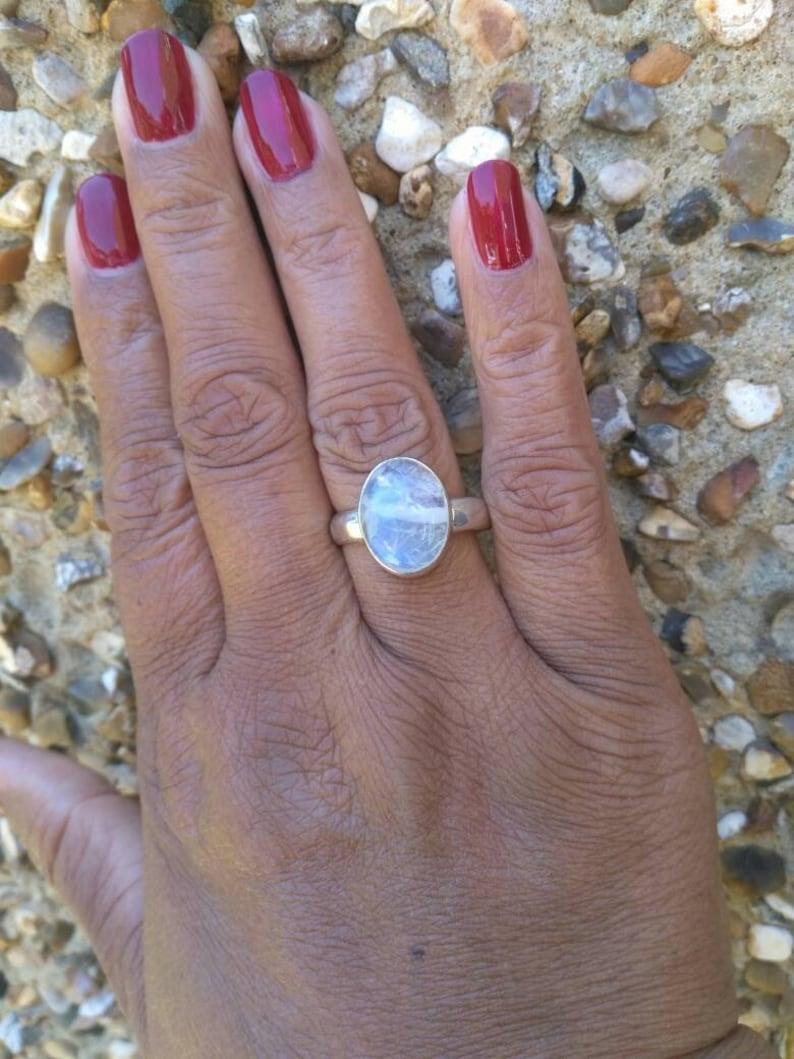 Beautiful gemstone ring.