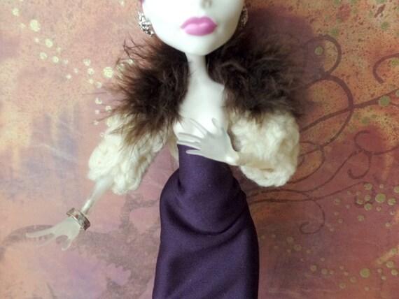 Häkeln Und Federn Puppe Pullover Achselzucken Für Barbie Etsy