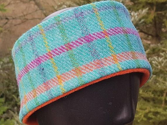 Handmade Scottish Harris Tweed Headband. Earmuff. Earwarmers  1b3fa4e1334