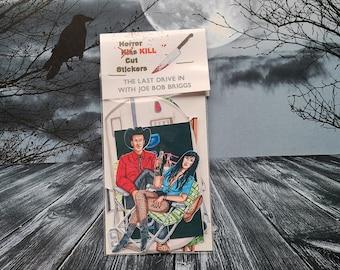 The Last Drive In With Joe Bob Briggs, Sticker Set, Fan Art, Horror Host