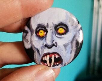 The Master, Salem's Lot, Horror Pin, Button, Kurt Barlow, Scary Flare