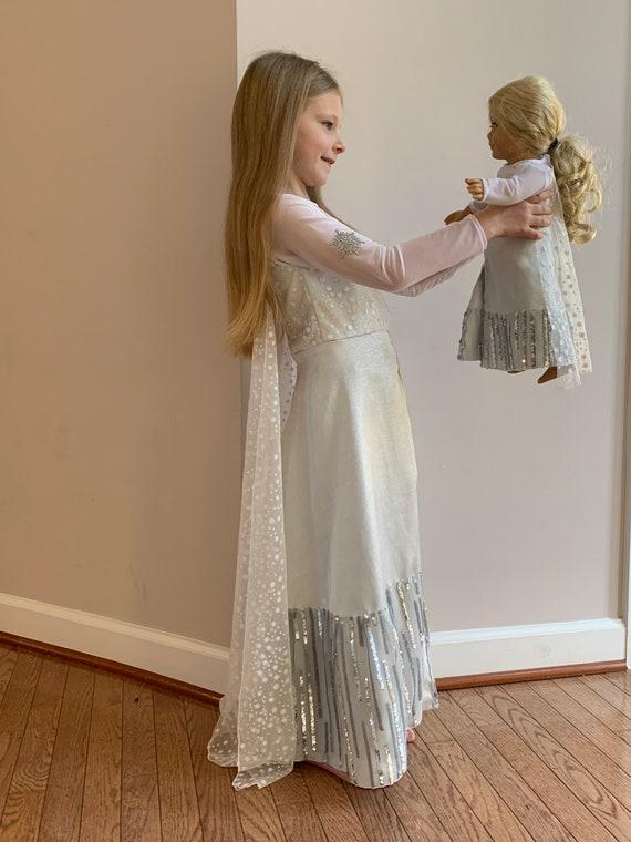 Elsa Birthday Outfit Snowqueen Ice Queen Frozen