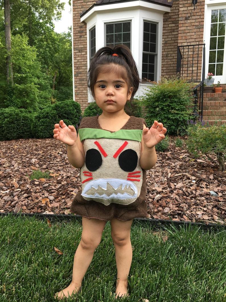 Moana Kakamora Coconut Pirate Halloween Costume for Infants image 0
