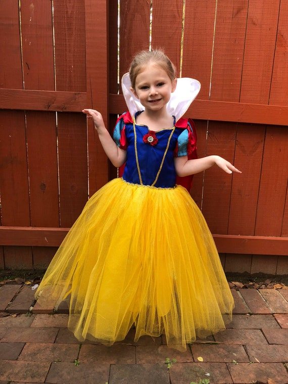Custom Snow White Costume or Dress for Girls, Toddler, Infant, or Adult Women