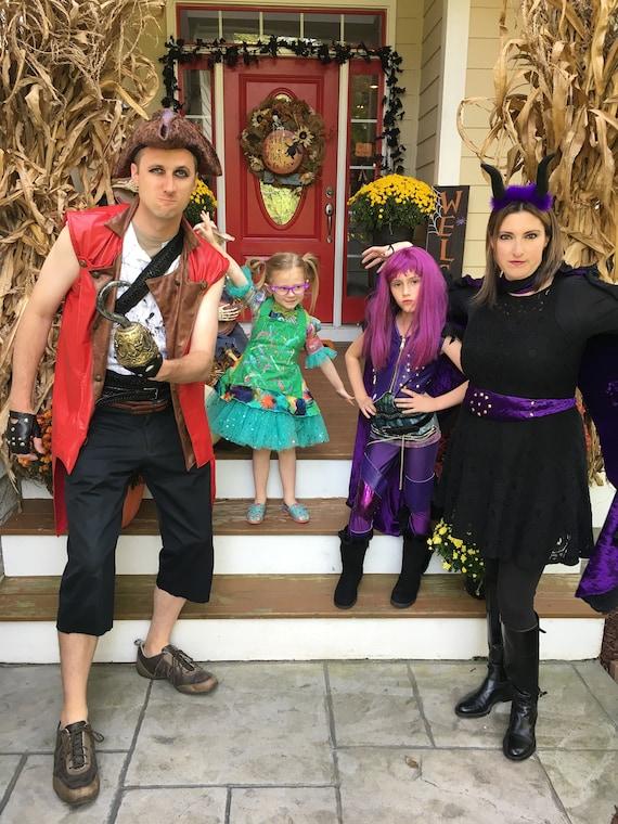 Descendants Carlos Halloween Costume for Boys and Adult Men