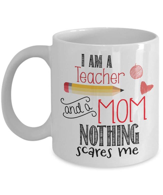 Lustige Lehrer Tasse ich bin ein Lehrer und eine Mutter | Etsy