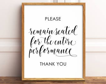 Bathroom wall decor, Please Remain Seated, Funny Bathroom Art, Funny Bathroom Decor, Bathroom Printables, Bathroom Signs, Bathroom Prints