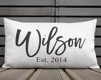 Personalized pillow wedding f7962b485