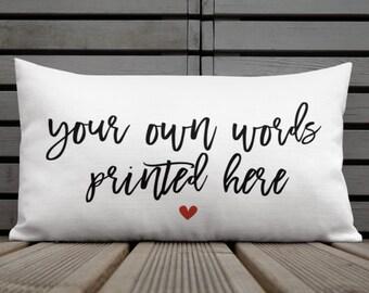 Custom pillow  659d4f06df