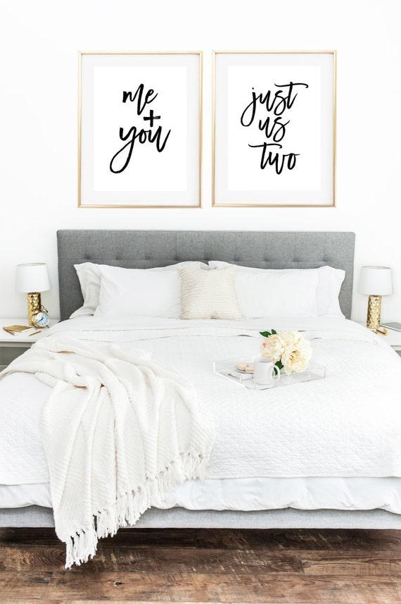 Liebe Druck Paar Druck Paar Schlafzimmer Romantischen | Etsy