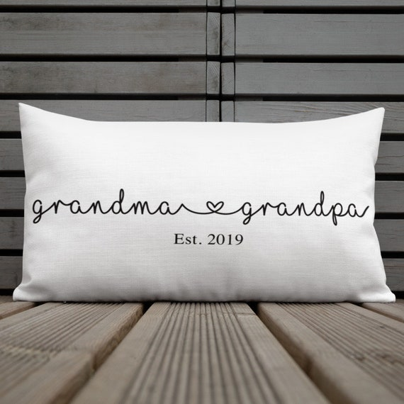 Grandma Est. 2020 Pillow New grandma