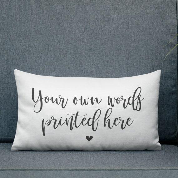 Tu es l/'amour de ma vie un devis Personnalisé Taie d/'oreiller