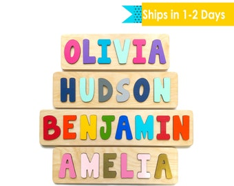 Name puzzle | Etsy