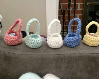 Handmade Basket Favors