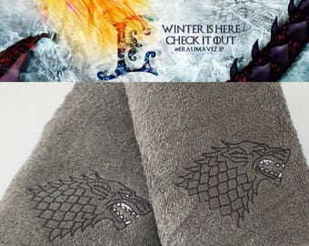 Game of Thrones - House Stark Towels