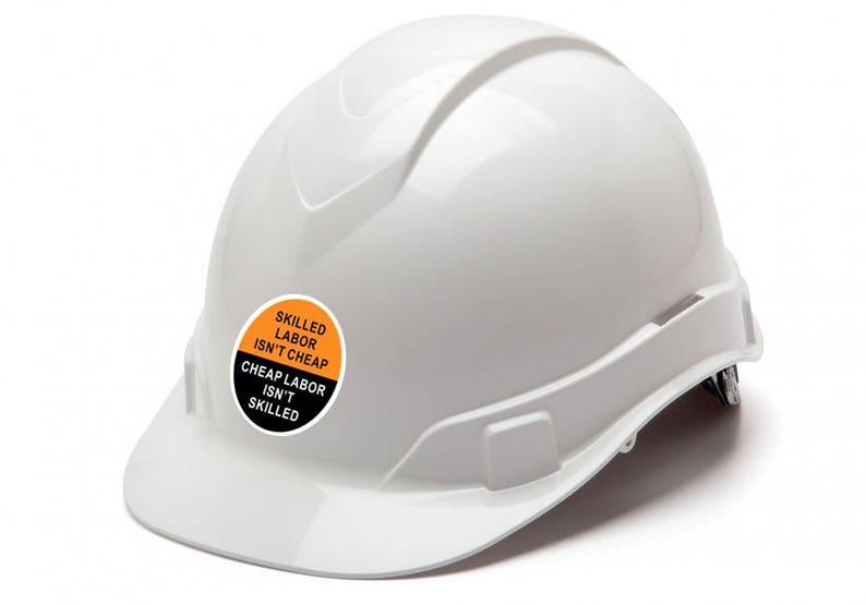 b6c89da9c464 SAFETY FIRST / Skilled Labor Isn't Cheap (6 Pack) 2