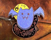 Bat Gang Hard Enamel Pin ...