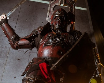 IN STOCK - Warhammer FB - Khorne Warrior Full Set - Epic Fantasy Battle Armor for larp or cosplay