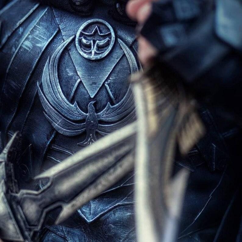 The Elder Scrolls SKYRIM Nightingale cosplay armor MALE - high quality eva  costume - Skyrim thief larp friendly halloween costume