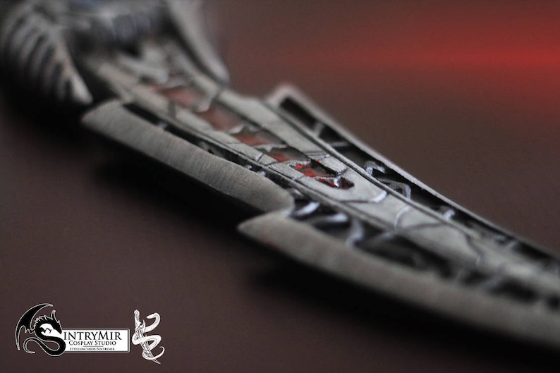 The Elder Scrolls - Morrowind - Daedric Dagger - exact replica for cosplay  or personal collections